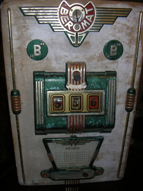 antike spielautomaten